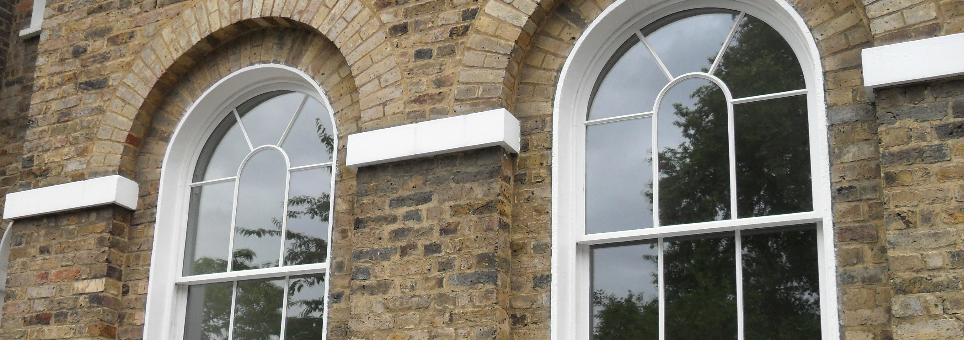 Slimline double glazing in listed building