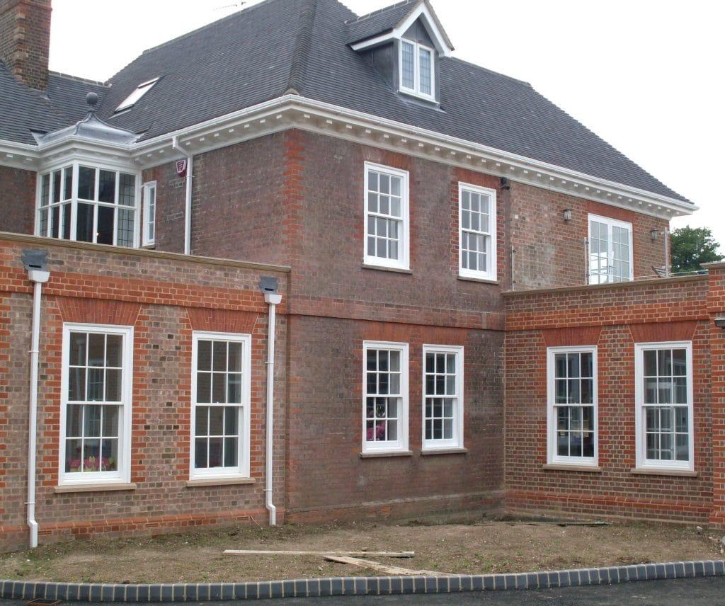 Victorian box sash windows