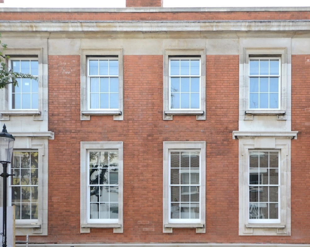 Heritage box sash windows